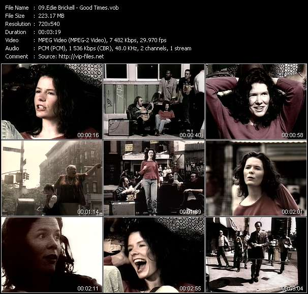 Edie Brickell - Good Times