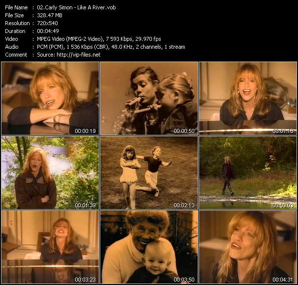 Carly Simon - Like A River