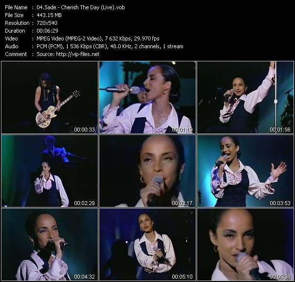Sade - Cherish The Day (Live)
