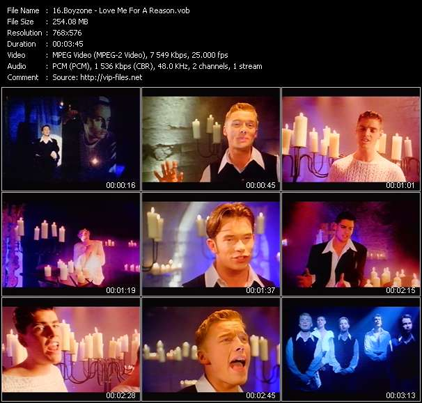 Boyzone - Love Me For A Reason