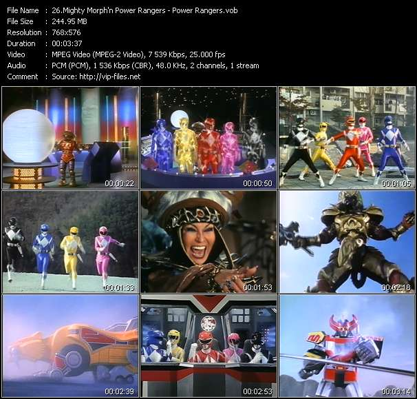 Mighty Morph'n Power Rangers - Power Rangers