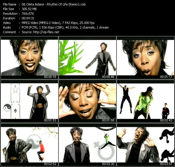 Oleta Adams - Rhythm Of Life (Remix)