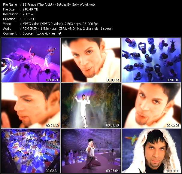 Prince (The Artist) - Betcha By Golly Wow!