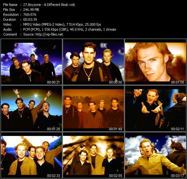Boyzone - A Different Beat