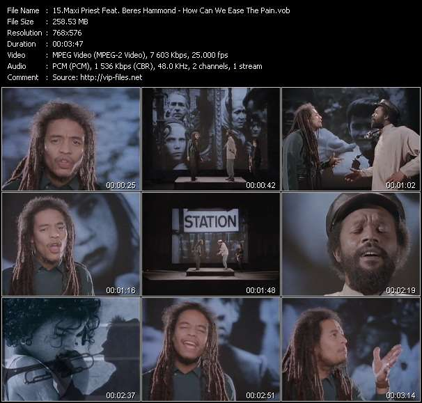 Maxi Priest Feat. Beres Hammond - How Can We Ease The Pain?