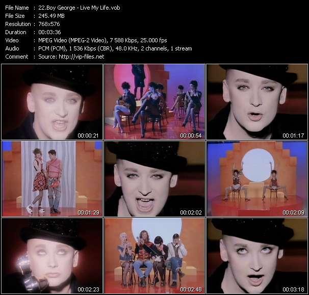 Boy George - Live My Life