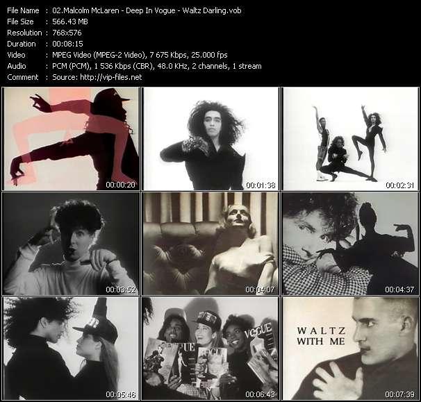 Malcolm McLaren - Deep In Vogue - Waltz Darling