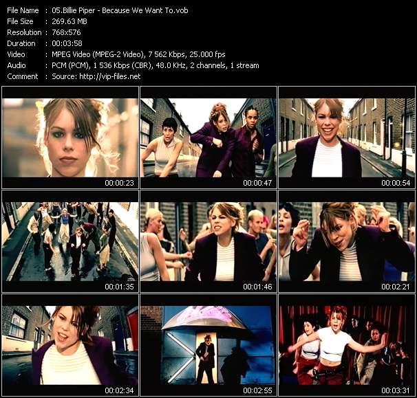 Billie Piper - Because We Want To