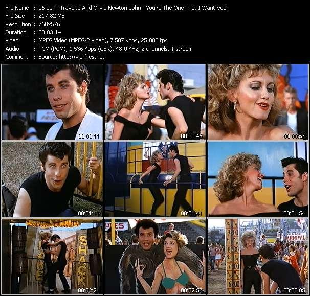 John Travolta And Olivia Newton-John - You're The One That I Want