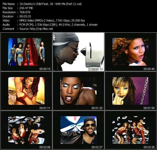 Destiny's Child Feat. Jd - With Me (Part 1)