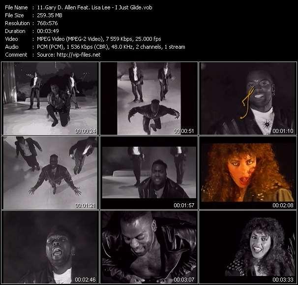 Gary D. Allen Feat. Lisa Lee - I Just Glide