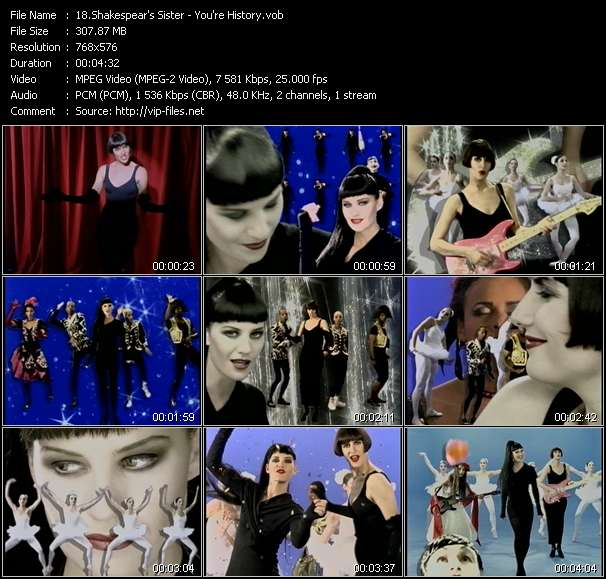 Shakespear's Sister - You're History