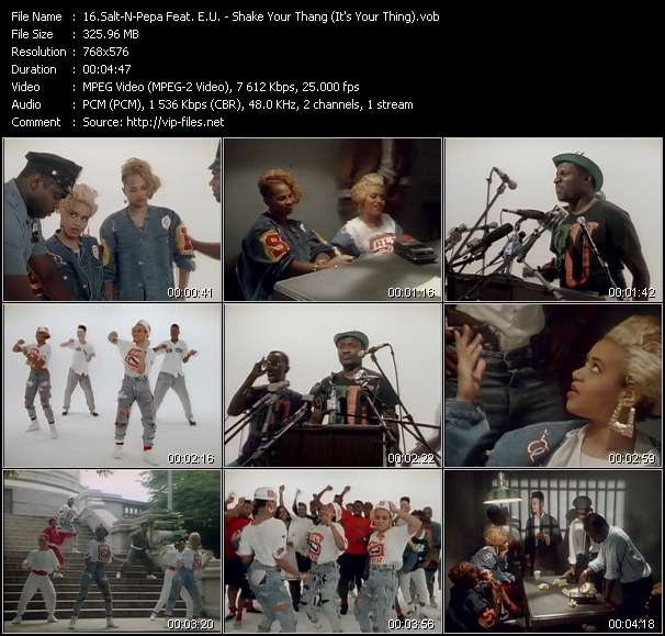 Salt-N-Pepa Feat. E.U. - Shake Your Thang (It's Your Thing)