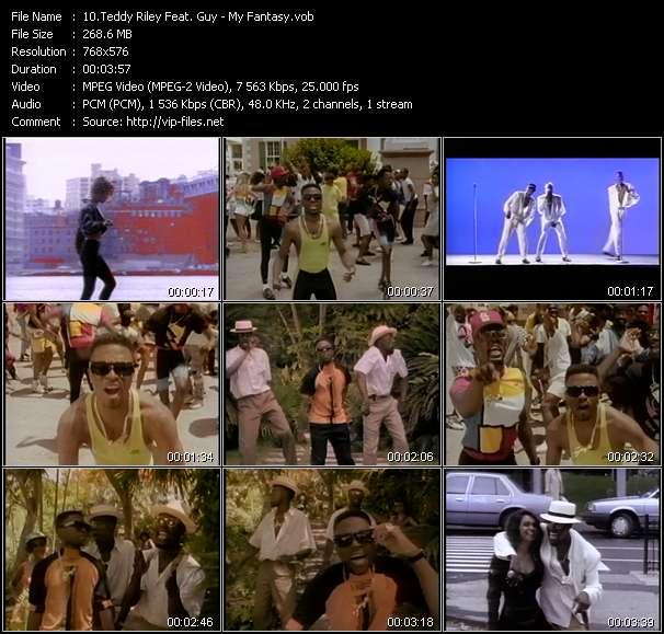 Teddy Riley Feat. Guy - My Fantasy