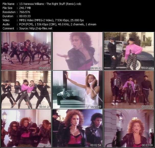 Vanessa Williams - The Right Stuff (Remix)