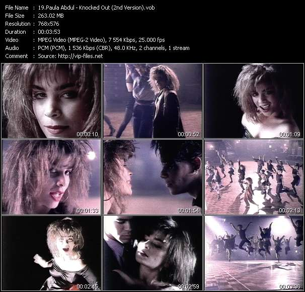 Paula Abdul - Knocked Out (2nd Version)
