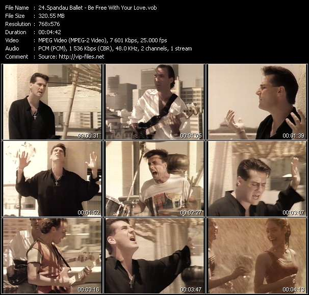 Spandau Ballet - Be Free With Your Love