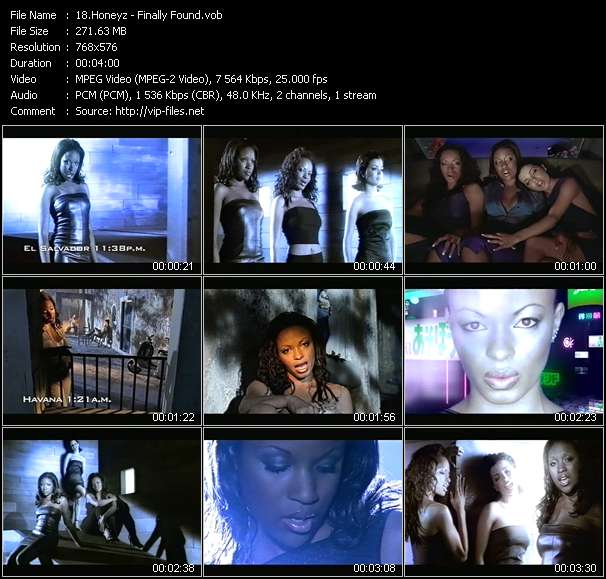 Honeyz - Finally Found