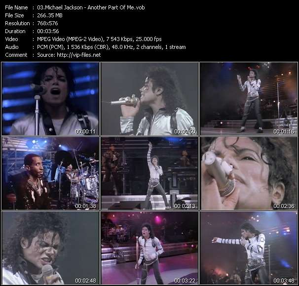 Michael Jackson - Another Part Of Me