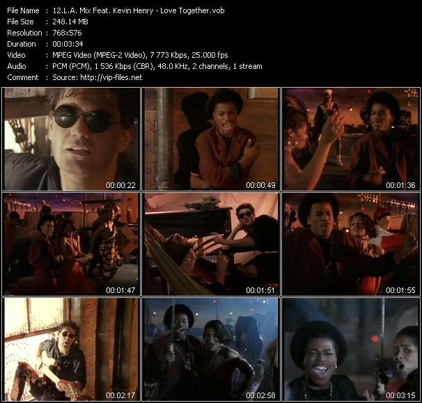 L.A. Mix Feat. Kevin Henry - Love Together