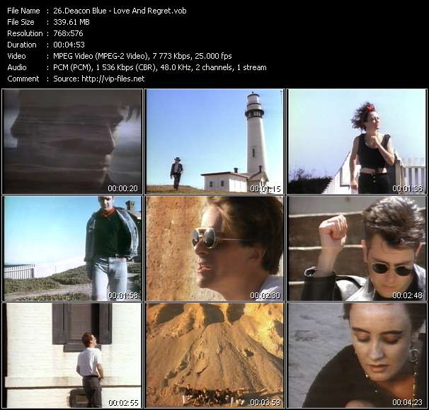 Deacon Blue - Love And Regret
