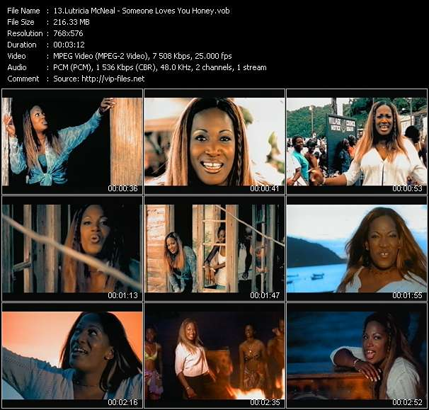 Lutricia McNeal - Someone Loves You Honey