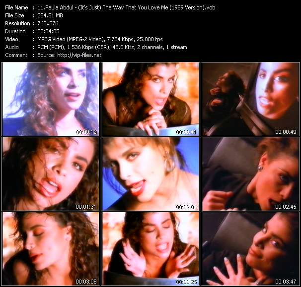 Paula Abdul - (It's Just) The Way That You Love Me (1989 Version)