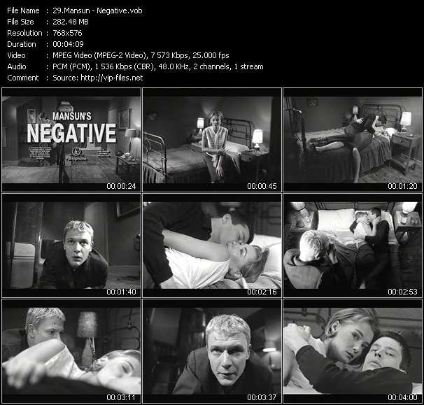 Mansun - Negative