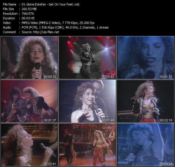 Gloria Estefan - Get On Your Feet
