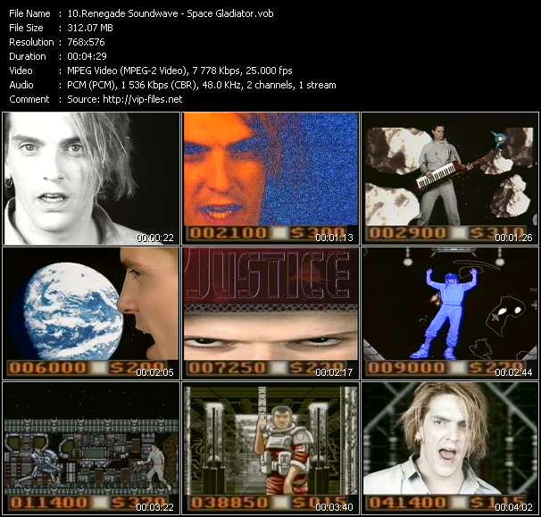 Renegade Soundwave - Space Gladiator