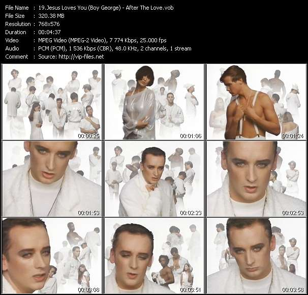 Jesus Loves You (Boy George) - After The Love