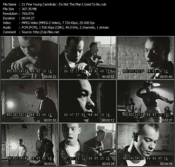 Fine Young Cannibals - I'm Not The Man I Used To Be (Alternative Mounting Version)