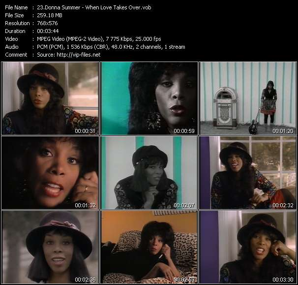 Donna Summer - When Love Takes Over