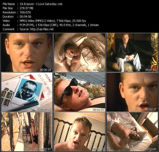 Erasure - I Love Saturday