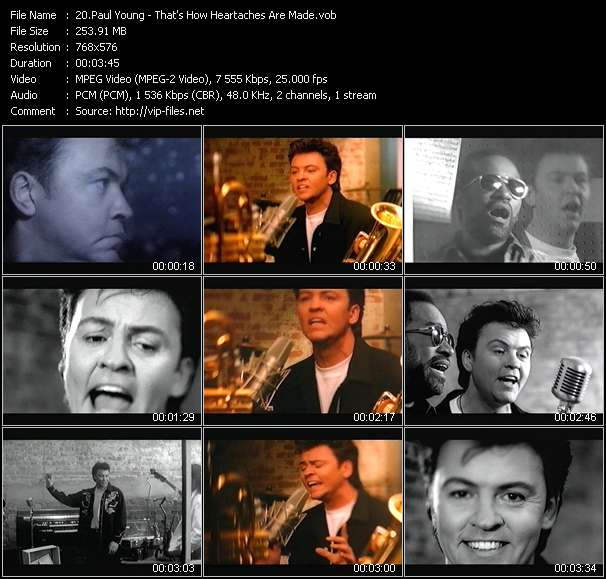 Paul Young - That's How Heartaches Are Made