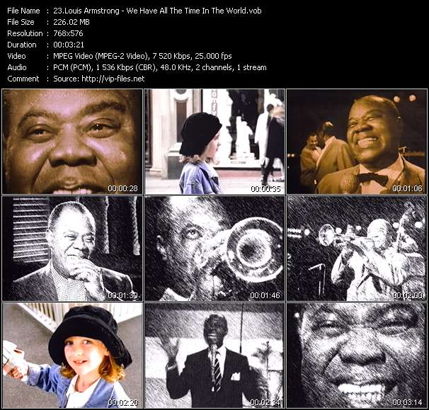 Louis Armstrong - We Have All The Time In The World
