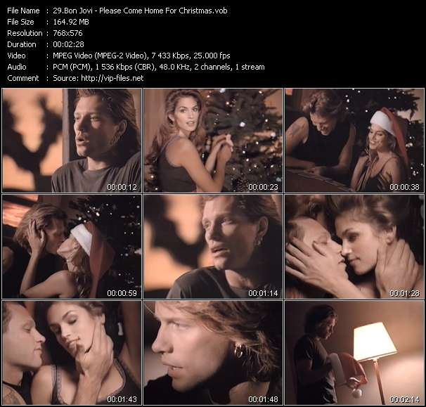 Bon Jovi - Please Come Home For Christmas