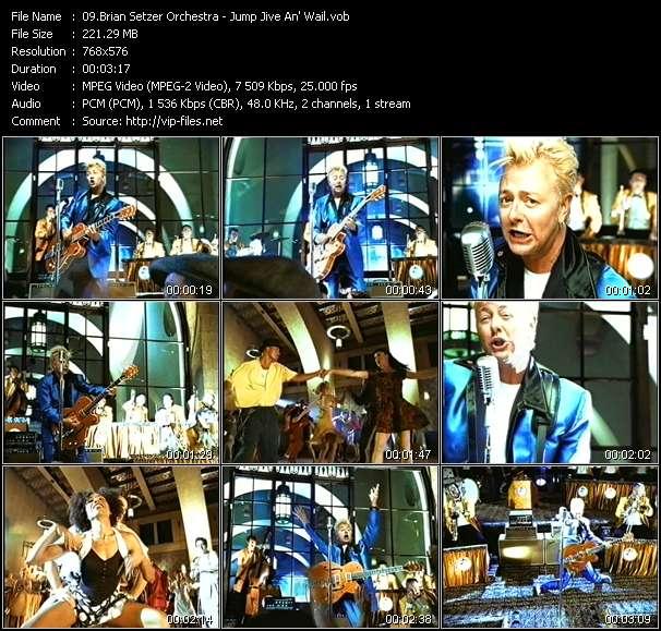 Brian Setzer Orchestra - Jump Jive An' Wail