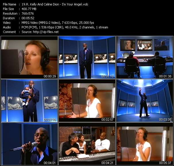 R. Kelly And Celine Dion - I'm Your Angel