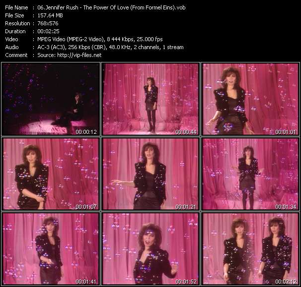 Jennifer Rush - The Power Of Love (From Formel Eins)
