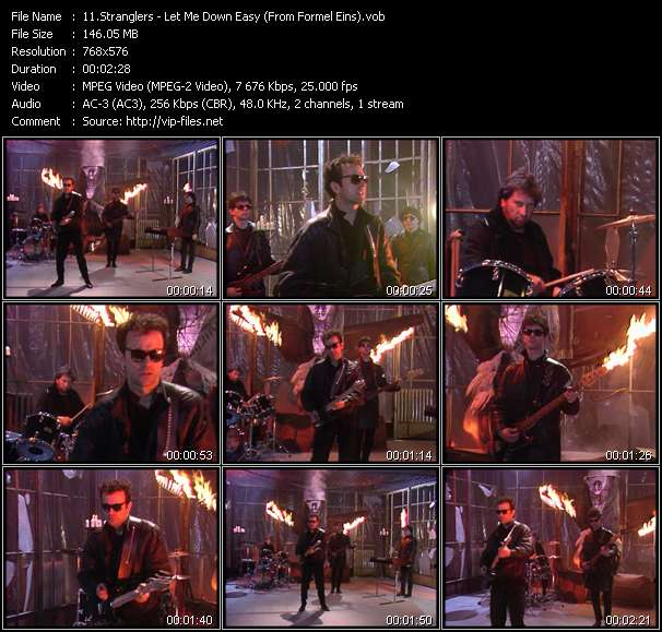 Stranglers - Let Me Down Easy (From Formel Eins)