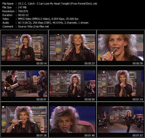 C.C. Catch - I Can Lose My Heart Tonight (From Formel Eins)