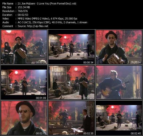 Joe Mubare - I Love You (From Formel Eins)