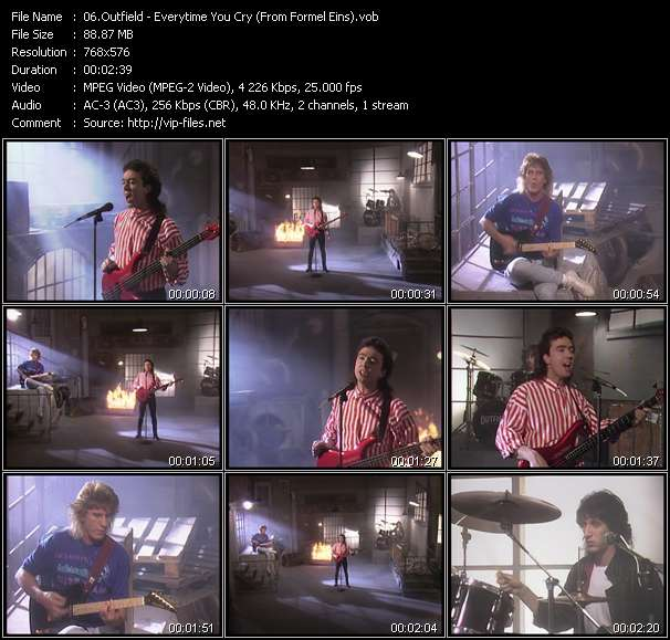 Outfield - Everytime You Cry (From Formel Eins)