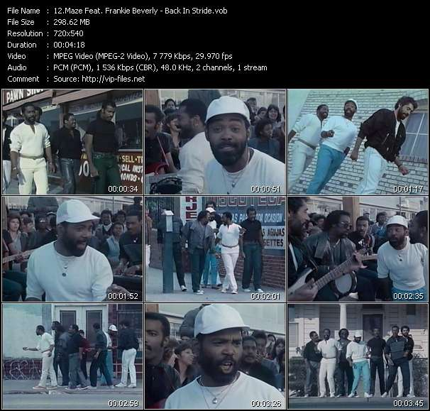 Maze Feat. Frankie Beverly - Back In Stride