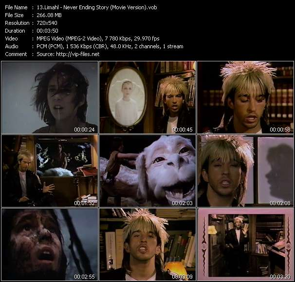 Limahl - Never Ending Story (Movie Version)
