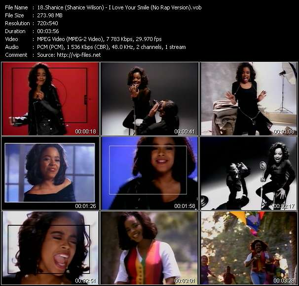 Shanice (Shanice Wilson) I Love Your Smile (No Rap Version)