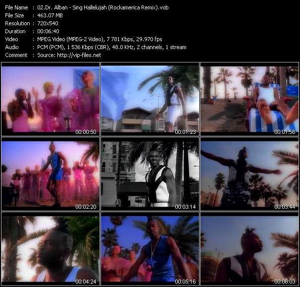 Dr. Alban Sing Hallelujah (Rockamerica Remix)