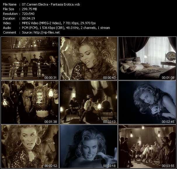 Carmen Electra Fantasia Erotica