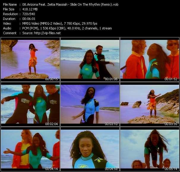 Arizona Feat. Zeitia Massiah Slide On The Rhythm (Remix)